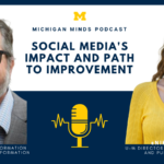 Cliff Lampe Nikki Sunstrum on Social Media' Impact and Path to Improvement. Michigan Minds podcast.